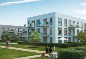 Neues Wohnkonzept vereint helle Leichtigkeit mit viel grün